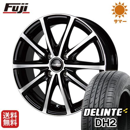 今がお得! 送料無料 205/55R16 16インチ サマータイヤ ホイール4本セット MID ユーロスピード V25 6J 6.00-16 DELINTE デリンテ DH2(限定)