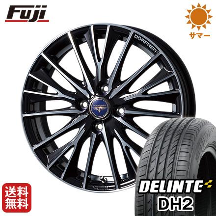 今がお得! 送料無料 155/65R14 14インチ サマータイヤ ホイール4本セット TOPY トピー ドルフレン デルディオ 4.5J 4.50-14 DELINTE デリンテ DH2(限定)