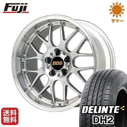 今がお得! 送料無料 225/50R18 18インチ サマータイヤ ホイール4本セット BBS JAPAN BBS RS-GT 7.5J 7.50-18 DELINTE デリンテ DH2(限定)