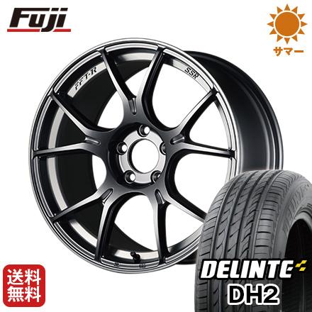 今がお得! 送料無料 205/50R16 16インチ サマータイヤ ホイール4本セット SSR GTX02 6.5J 6.50-16 DELINTE デリンテ DH2(限定)