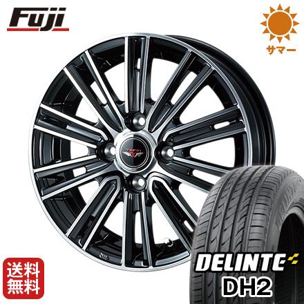 今がお得! 送料無料 185/60R15 15インチ サマータイヤ ホイール4本セット WEDS ウェッズ テッドスナップ 5.5J 5.50-15 DELINTE デリンテ DH2(限定)