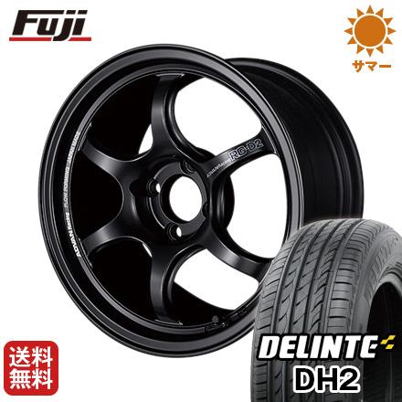 今がお得! 送料無料 195/55R16 16インチ サマータイヤ ホイール4本セット YOKOHAMA ヨコハマ アドバンレーシング RG-DII 6.5J 6.50-16 DELINTE デリンテ DH2(限定)