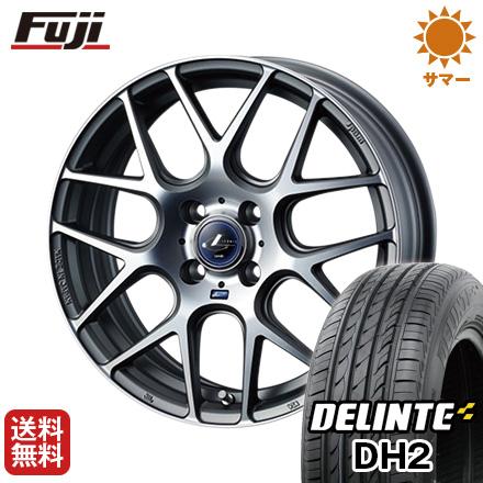 今がお得! 送料無料 165/45R16 16インチ サマータイヤ ホイール4本セット WEDS ウェッズ レオニス NAVIA 06 5J 5.00-16 DELINTE デリンテ DH2(限定)