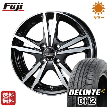 今がお得! 送料無料 155/65R14 14インチ サマータイヤ ホイール4本セット BLEST ブレスト バーンズテック ジゼリスFVP 4.5J 4.50-14 DELINTE デリンテ DH2(限定)