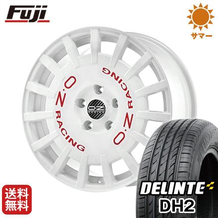 今がお得! 送料無料 215/60R17 17インチ サマータイヤ ホイール4本セット OZ ラリーレーシング 7J 7.00-17 DELINTE デリンテ DH2(限定)