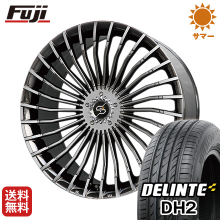 取付対象 今がお得 送料無料 235 45R18 18インチ サマータイヤ ホイール4本セット PREMIX プレミックス グラッパ f30 BMCポリッシュ 7.5J 7.50-18 DELINTE デリンテ DH2 限定