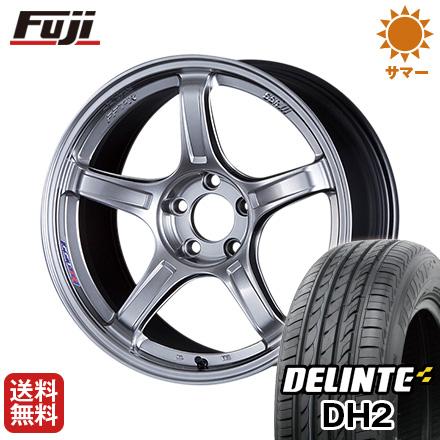 今がお得! 送料無料 165/55R15 15インチ サマータイヤ ホイール4本セット SSR GTX03 5J 5.00-15 DELINTE デリンテ DH2(限定)
