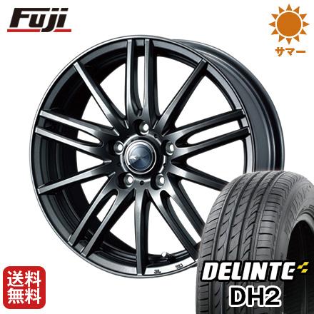 今がお得! 送料無料 215/60R17 17インチ サマータイヤ ホイール4本セット WEDS ウェッズ ザミック ティート 6.5J 6.50-17 DELINTE デリンテ DH2(限定)