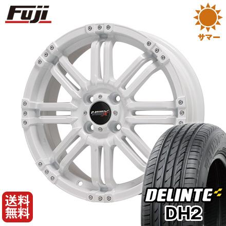 今がお得! 送料無料 165/50R15 15インチ サマータイヤ ホイール4本セット BIGWAY ビッグウエイ B-MUD X(ホワイト) 4.5J 4.50-15 DELINTE デリンテ DH2(限定)