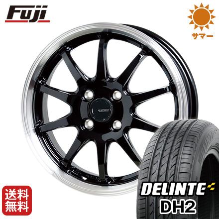 今がお得! 送料無料 155/65R14 14インチ サマータイヤ ホイール4本セット HOT STUFF ホットスタッフ ジースピード P-04 4.5J 4.50-14 DELINTE デリンテ DH2(限定)