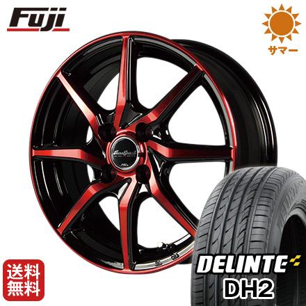 今がお得! 送料無料 185/60R15 15インチ サマータイヤ ホイール4本セット MID ユーロスピード S810 5.5J 5.50-15 DELINTE デリンテ DH2(限定)