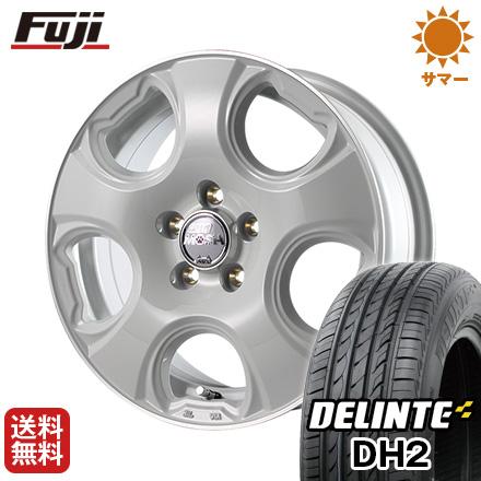 今がお得! 送料無料 155/65R14 14インチ サマータイヤ ホイール4本セット MID モッシュキャット 4.5J 4.50-14 DELINTE デリンテ DH2(限定)