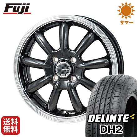 今がお得! 送料無料 165/50R15 15インチ サマータイヤ ホイール4本セット MONZA モンツァ JPスタイル バーニー 4.5J 4.50-15 DELINTE デリンテ DH2(限定)