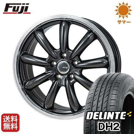 今がお得! 送料無料 215/60R16 16インチ サマータイヤ ホイール4本セット MONZA モンツァ JPスタイル バーニー 6.5J 6.50-16 DELINTE デリンテ DH2(限定)