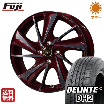 今がお得! 送料無料 165/50R15 15インチ サマータイヤ ホイール4本セット TOPY トピー ドルフレン ヴァルネ 4.5J 4.50-15 DELINTE デリンテ DH2(限定)
