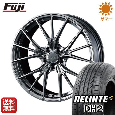 今がお得! 送料無料 245/35R21 21インチ サマータイヤ ホイール4本セット WEDS ウェッズ F-ZERO FZ-1 9J 9.00-21 DELINTE デリンテ DH2(限定)