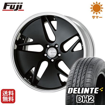 今がお得! 送料無料 245/35R21 21インチ サマータイヤ ホイール4本セット WORK ワーク グノーシス CVD 8.5J 8.50-21 DELINTE デリンテ DH2(限定)