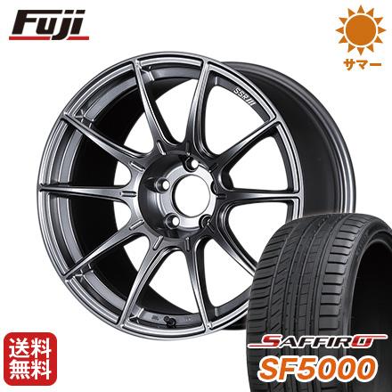 今がお得! 送料無料 205/50R16 16インチ サマータイヤ ホイール4本セット SSR GTX01 6.5J 6.50-16 SAFFIRO サフィーロ SF5000(限定)
