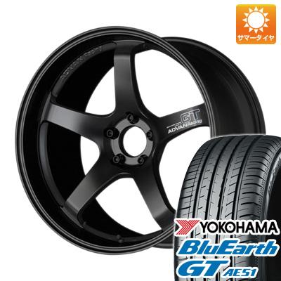 登場! 今がお得! 送料無料 225/40R18 18インチ サマータイヤ ホイール4本セット YOKOHAMA ヨコハマ アドバンレーシング GT 8J 8.00-18 YOKOHAMA ブルーアース GT AE51, ハマナグン 9166f0ac