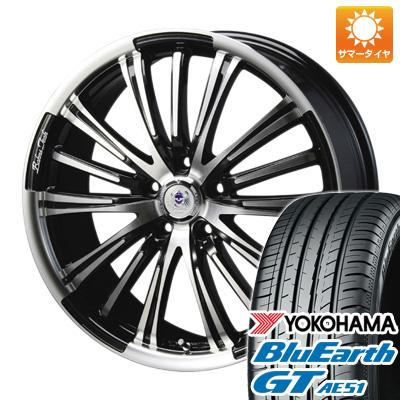 今がお得! 送料無料 245/45R19 19インチ サマータイヤ ホイール4本セット BLEST ブレスト バーンズテック VR-01 7.5J 7.50-19 YOKOHAMA ブルーアース GT AE51