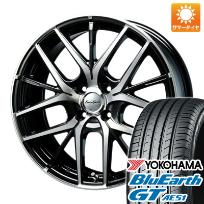 【送料無料】 205/60R16 16インチ BLEST ブレスト ユーロスポーツ MXベテルグ 6.5J 6.50-16 YOKOHAMA ヨコハマ ブルーアース GT AE51 サマータイヤ ホイール4本セット