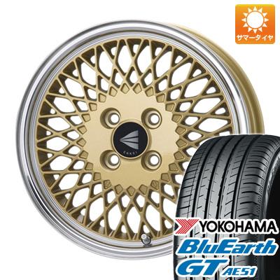 今がお得! 送料無料 185/55R16 16インチ サマータイヤ ホイール4本セット ENKEI エンケイ クラシック ENKEI 92 6.5J 6.50-16 YOKOHAMA ブルーアース GT AE51