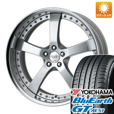今がお得! 送料無料 225/45R19 19インチ サマータイヤ ホイール4本セット WORK ワーク エクイップ E05 7.5J 7.50-19 YOKOHAMA ブルーアース GT AE51