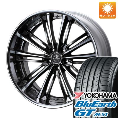 今がお得! 送料無料 235/40R19 19インチ サマータイヤ ホイール4本セット WEDS ウェッズ クレンツェ アクエルド 8.5J 8.50-19 YOKOHAMA ブルーアース GT AE51