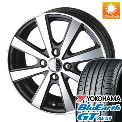 今がお得! 送料無料 185/55R15 15インチ サマータイヤ ホイール4本セット KYOHO 共豊 スマック VI-R 5.5J 5.50-15 YOKOHAMA ブルーアース GT AE51