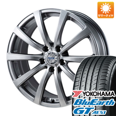 今がお得! 送料無料 195/50R16 16インチ サマータイヤ ホイール4本セット MONZA モンツァ ZACK JP-110 10スポーク 6.5J 6.50-16 YOKOHAMA ブルーアース GT AE51