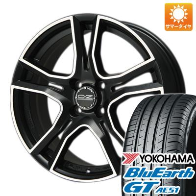 今がお得! 送料無料 185/60R15 15インチ サマータイヤ ホイール4本セット OZ X-LINE アドレナリーナ 6J 6.00-15 YOKOHAMA ブルーアース GT AE51