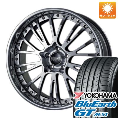 今がお得! 送料無料 225/40R19 19インチ サマータイヤ ホイール4本セット OZ ボッティチェッリ3 8J 8.00-19 YOKOHAMA ブルーアース GT AE51