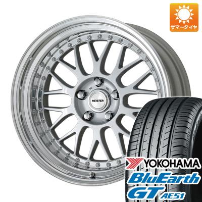今がお得! 送料無料 235/40R19 19インチ サマータイヤ ホイール4本セット WORK ワーク マイスター M1 3P 8.5J 8.50-19 YOKOHAMA ブルーアース GT AE51