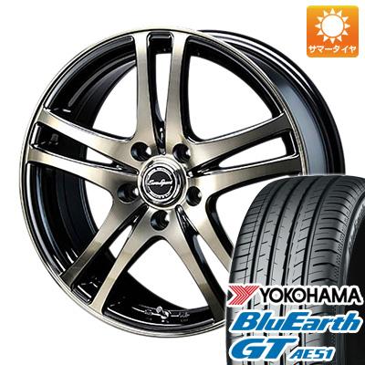 今がお得! 送料無料 195/50R16 16インチ サマータイヤ ホイール4本セット BLEST ブレスト ユーロスポーツ タイプ502限定 6.5J 6.50-16 YOKOHAMA ブルーアース GT AE51