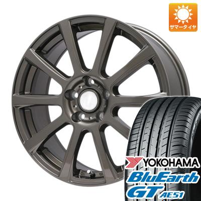 今がお得! 送料無料 215/65R16 16インチ サマータイヤ ホイール4本セット BRANDLE ブランドル 565Z 6.5J 6.50-16 YOKOHAMA ブルーアース GT AE51