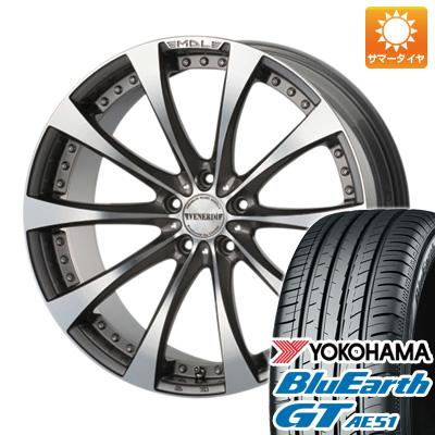 今がお得! 送料無料 235/50R18 18インチ サマータイヤ ホイール4本セット VENERDI ヴェネルディ マデリーナアデーレ 7.5J 7.50-18 YOKOHAMA ブルーアース GT AE51