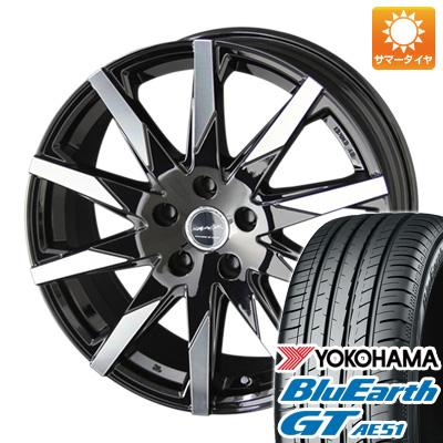 今がお得! 送料無料 195/65R15 15インチ サマータイヤ ホイール4本セット KYOHO 共豊 スマック スフィーダ 6J 6.00-15 YOKOHAMA ブルーアース GT AE51