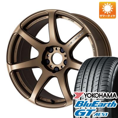 今がお得! 送料無料 185/55R16 16インチ サマータイヤ ホイール4本セット WORK ワーク エモーション T7R 6.5J 6.50-16 YOKOHAMA ブルーアース GT AE51