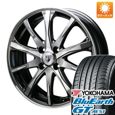 今がお得! 送料無料 205/45R17 17インチ サマータイヤ ホイール4本セット BLEST ブレスト バーンシュポルト タイプ504 7J 7.00-17 YOKOHAMA ブルーアース GT AE51