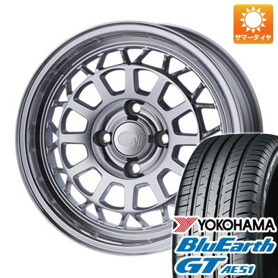 今がお得! 送料無料 185/65R15 15インチ サマータイヤ ホイール4本セット ENKEI エンケイ allシリーズ オールナイン 6J 6.00-15 YOKOHAMA ブルーアース GT AE51
