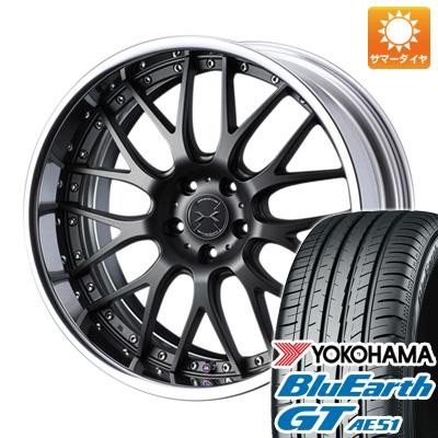 今がお得! 送料無料 225/45R19 19インチ サマータイヤ ホイール4本セット WEDS ウェッズ マーベリック 709M 8J 8.00-19 YOKOHAMA ブルーアース GT AE51