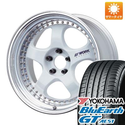 【送料無料】 215/45R18 18インチ WORK ワーク マイスター S1 3P 7.5J 7.50-18 YOKOHAMA ヨコハマ ブルーアース GT AE51 サマータイヤ ホイール4本セット