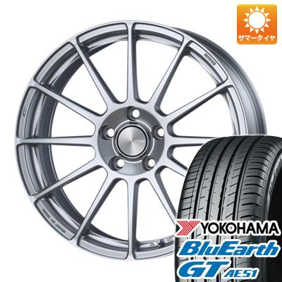 【送料無料】 205/55R17 17インチ ENKEI エンケイ PF03 7J 7.00-17 YOKOHAMA ヨコハマ ブルーアース GT AE51 サマータイヤ ホイール4本セット