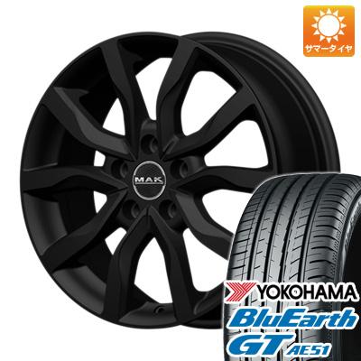 今がお得! 送料無料 235/50R18 18インチ サマータイヤ ホイール4本セット MAK ケルン 7.5J 7.50-18 YOKOHAMA ブルーアース GT AE51