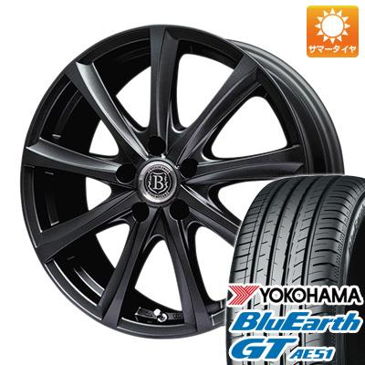 今がお得! 送料無料 205/50R16 16インチ サマータイヤ ホイール4本セット BRANDLE-LINE ブランドルライン アヴェルサ 9Z限定 6.5J 6.50-16 YOKOHAMA ブルーアース GT AE51