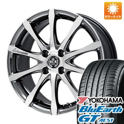 今がお得! 送料無料 185/55R16 16インチ サマータイヤ ホイール4本セット LEHRMEISTER レアマイスター ノニーノ SBCポリッシュ限定 6.5J 6.50-16 YOKOHAMA ブルーアース GT AE51