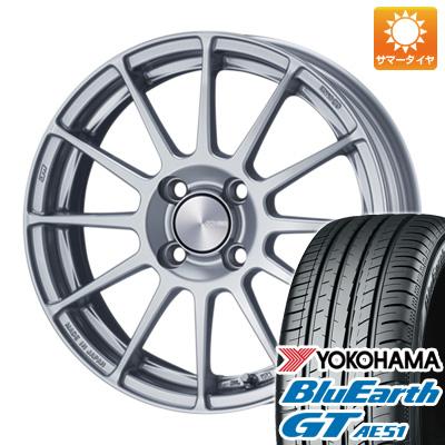 今がお得! 送料無料 185/55R16 16インチ サマータイヤ ホイール4本セット ENKEI エンケイ PF03 6.5J 6.50-16 YOKOHAMA ブルーアース GT AE51