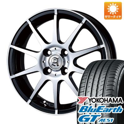今がお得! 送料無料 165/55R15 15インチ サマータイヤ ホイール4本セット TECHNOPIA テクノピア アドニス HSR 4.5J 4.50-15 YOKOHAMA ブルーアース GT AE51