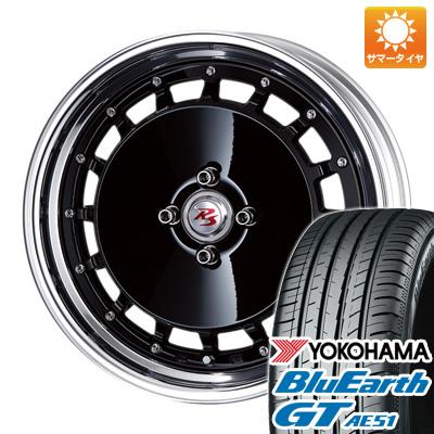 今がお得! 送料無料 195/50R16 16インチ サマータイヤ ホイール4本セット CRIMSON クリムソン RS DP CUP マルチピース 6.5J 6.50-16 YOKOHAMA ブルーアース GT AE51