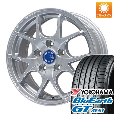 【送料無料】 205/55R17 17インチ BRANDLE ブランドル M69 7J 7.00-17 YOKOHAMA ヨコハマ ブルーアース GT AE51 サマータイヤ ホイール4本セット